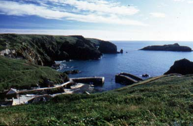 Mullion Cove on the Lizard Peninsula